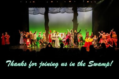 We Had a Great Time With You at Shrek!